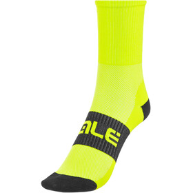Alé Cycling Q-Skin High Socks fluo yellow